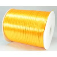 А03-12 Лента атласная 3мм оранжево-желтая 796м