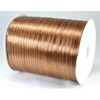 А03-13 Лента атласная 3мм коричневая 796м
