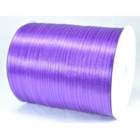 А03-16 Лента атласная 3мм фиолетовая 796м
