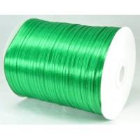 А03-6 Лента атласная 3мм зеленый 796м