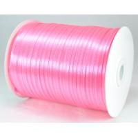 А03-9 Лента атласная 3мм розовая 796м