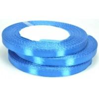 А07-37 Лента атласная 7мм 10шт синяя 32м