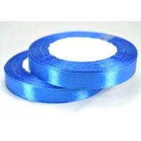 А12-40 Лента атласная 1,2см 10шт синяя