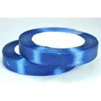 А12-47 Лента атласная 1,2см 10шт т.-синяя