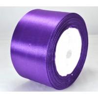 05А48-35 Лента атласная 4,8см 4шт фиолетовая