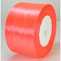 03А48-39 Лента атласная 4,8см 4шт розово-оранжевая