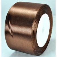А48-42 Лента атласная 4,8см 4шт коричневая
