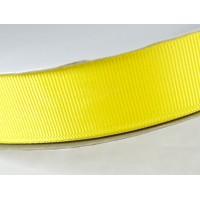 Лента репс 25мм 91м желтая ЛР25-0015