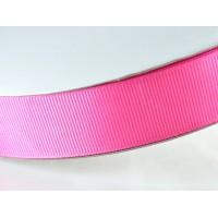 Лента репс 25мм 91м розовая ЛР25-0027
