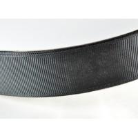 Лента репс 25мм 91м черная  ЛР25-0039