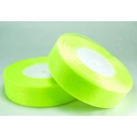 Ш25-11 Лента органза 2,5см ультра-зеленая 45м