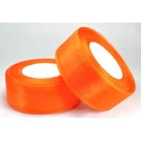 Ш38-10 Лента органза 3,8см оранжевая