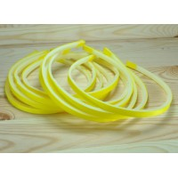З0З-1 Заготовка обруч 10шт пластик+репс желтый