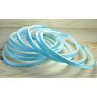 З0З-3 Заготовка обруч 10шт пластик+репс голубой