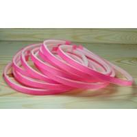 З0З-6 Заготовка обруч 10шт пластик+репс розовый