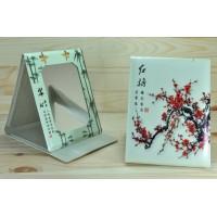 4639 Зеркало карманное Книжечка сакура