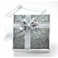 Коробка 6-363 5х5см серебро