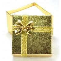 Коробка 6-363 5х5см золото