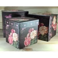 Коробка 6-3197 самая большая коробка 20,5х20,5х11см
