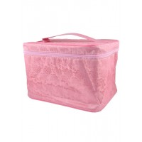 Арт 6046-2 Косметичка чемодан 25х18,5х17,5см