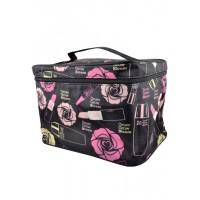 Арт 6046-3 Косметичка чемодан 25х18,5х17,5см