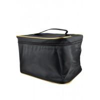 Арт 6046-4 Косметичка чемодан 25х18,5х17,5см