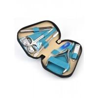 04-7103-2 КДС набор маникюрный бирюзовый