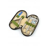 04-7104-1 КДС набор маникюрный оливковый
