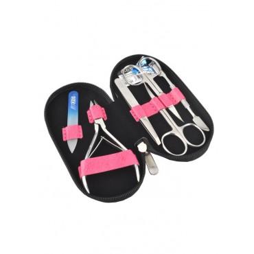 04-7104-2 КДС набор маникюрный розовый