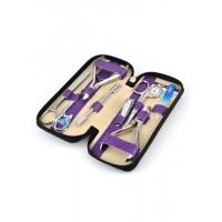04-7106-2 КДС набор маникюрный фиолетовый