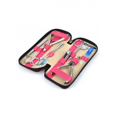 04-7106-3 КДС набор маникюрный розовый