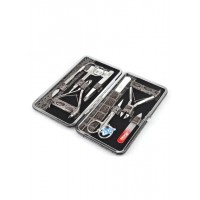 04-7115-1 КДС набор маникюрный серо-коричневый