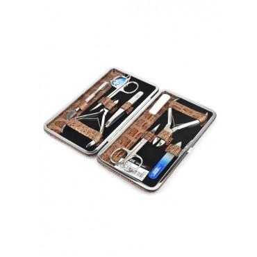 04-7115-2 КДС набор маникюрный коричневый