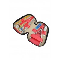 04-8103-5 КДС набор маникюрный Color коралловый