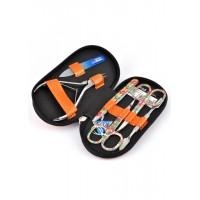 04-8104-3 КДС набор маникюрный оранжевый