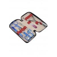 04-8105-1 КДС набор маникюрный Color бордовый