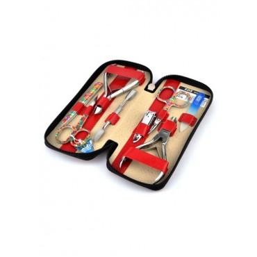 04-8106-3 КДС набор маникюрный красный