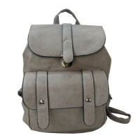 Арт 9026-1 Рюкзак цвета тауп 30х28х14см
