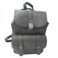 Арт 9026-3 Рюкзак серый 30х28х14см