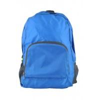 Арт 9040-1 рюкзак складной голубой 45х30х12см
