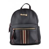 Арт 9042-1 Рюкзак черный 27,5х24х12см