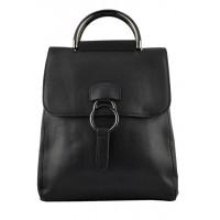 Арт 9048-2 Рюкзак-сумка черная 30х25х11см