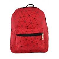 Арт 9049-1 Рюкзак красный 24х29х14см