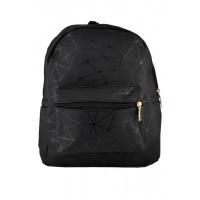 Арт 9049-3 Рюкзак черный 24х29х14см