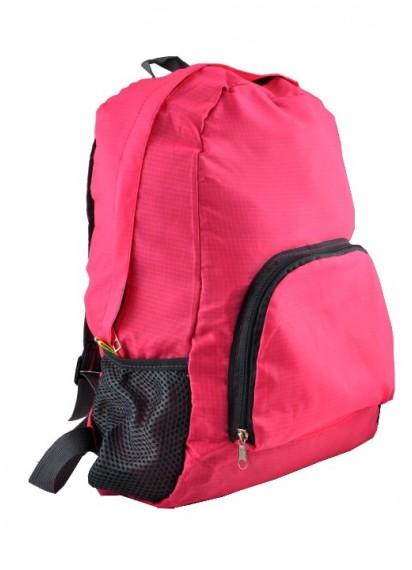 Арт 9040-2 рюкзак складной розовый 45х30х12см