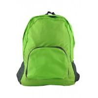 Арт 9040-3 рюкзак складной салатовый 45х30х12см