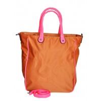 Сумка Оранжево-розовая 30х36х14,5 см Арт 9023-1