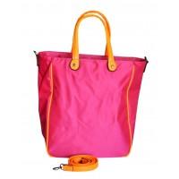 Сумка Розовая с оранжевым 30х36х14,5 см Арт 9023-3