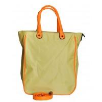 Сумка Желтая с оранжевым 30х36х14,5 см Арт 9023-4