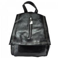 Арт 9035-1 Рюкзак черный 28х28х9,5см